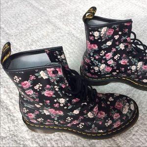 Dr. Martens Shoes - Dr Martens Floral boots
